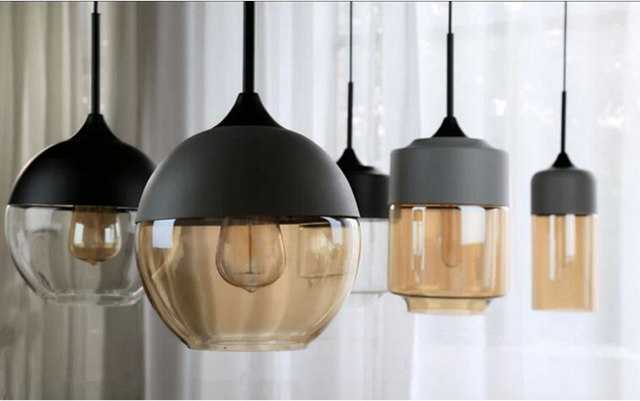 Dachboden Nordic Ikea Persnlichkeit Wohnzimmer Esstisch Kaffee Lampe Halle Bar Retro Glas Kronleuchter