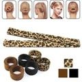 1PC New Hair Curls Bun Hair Band Hair Twist Styling Braid Tools Bun Maker Black Hair Accessories Hot for Women Lady Girls