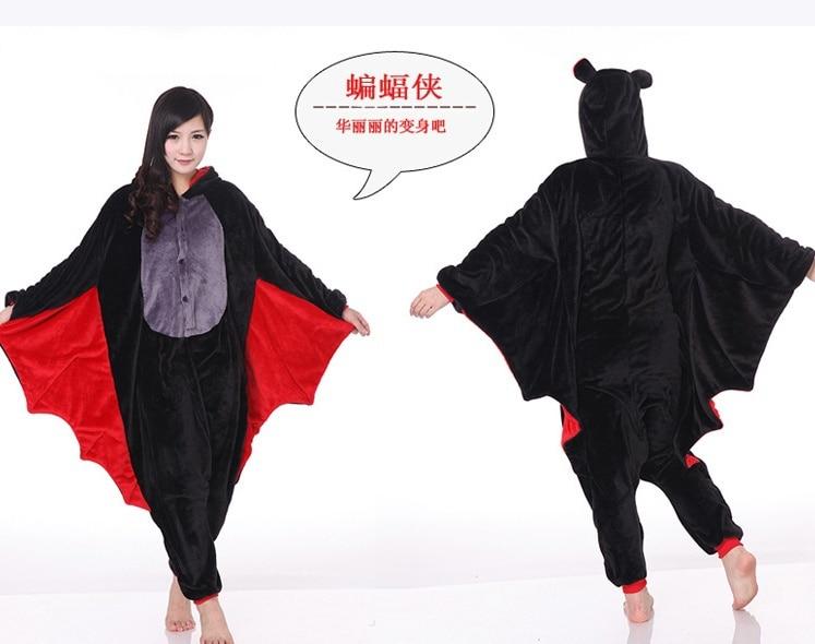 Fashion Men/Women Minions Animal Onesies Animal Onesies pets Pyjamas/Pajama Bat sleepwear for adult