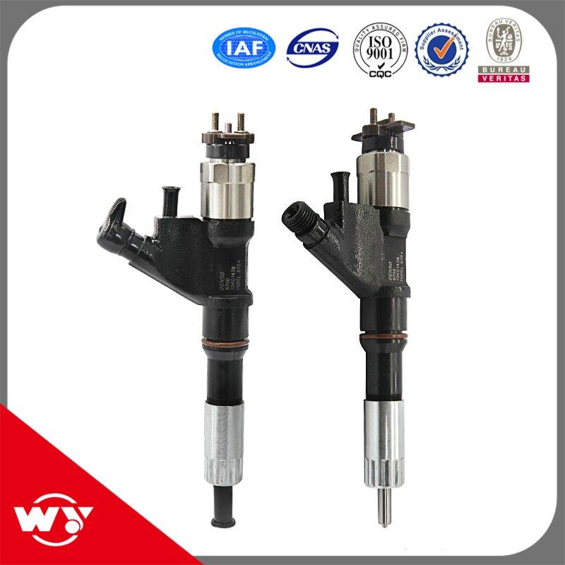 Injecteur d'injecteur de rail commun de pièces de moteur diesel de meilleur vendeur 095000-6700 pour l'injection de carburant