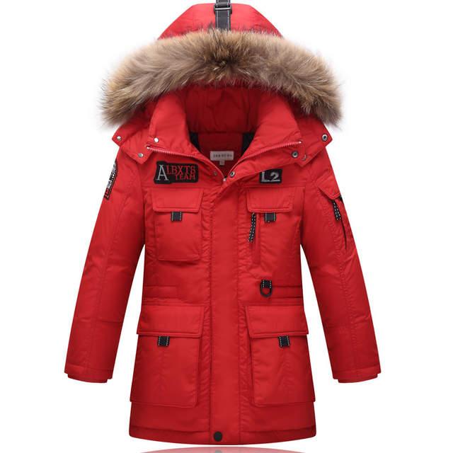 5ffc47543fa0 Online Shop -30degree 6-16Y Parka Outerwear coats children s cold ...