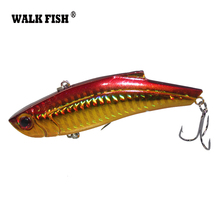 Walk Fish 1Pcs 9cm 28g Fishing Lure Winter Ice Fishing Hard Bait Minnow Pesca Isca Artificial Bait Crankbait Swimbait