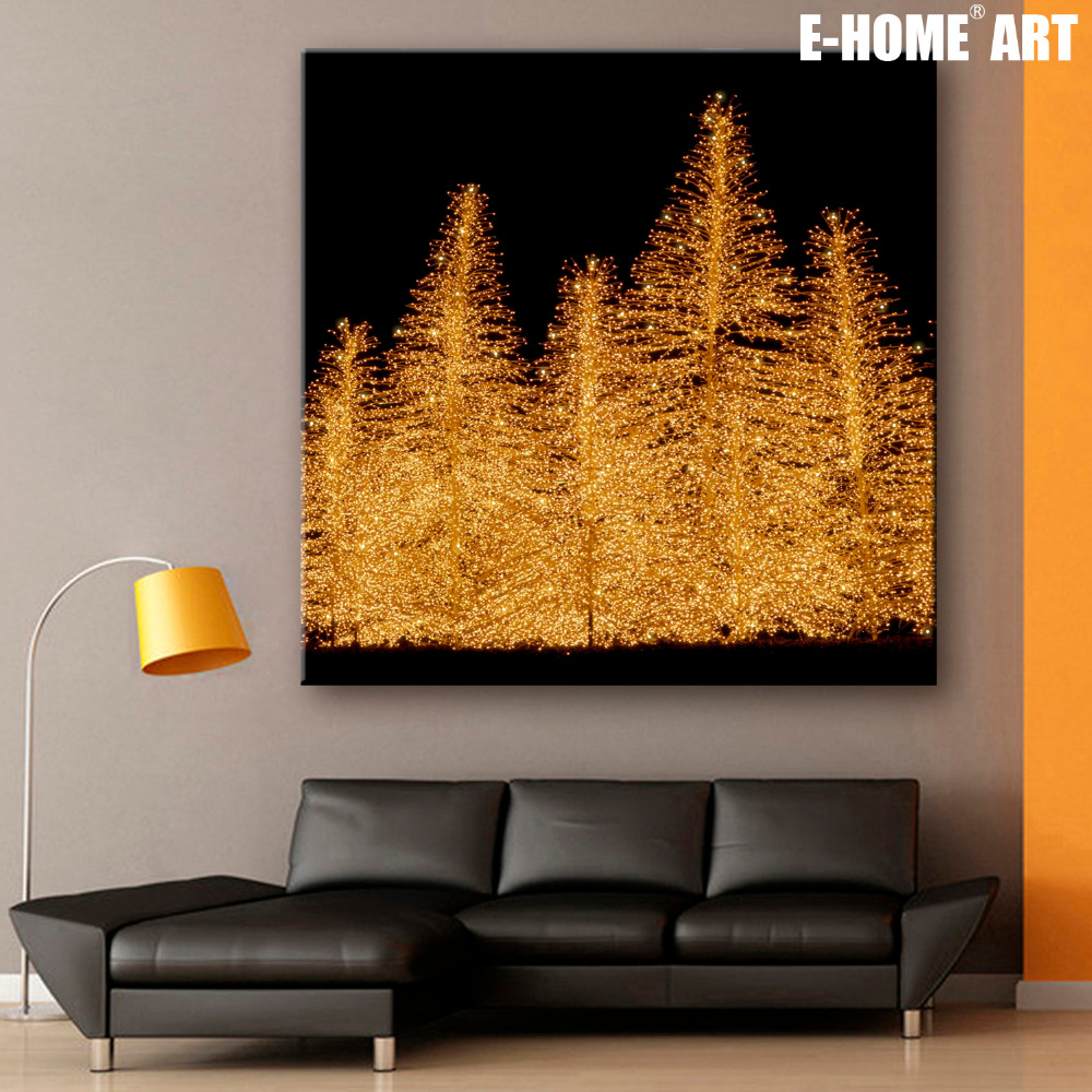 Compare prices on christmas tree canvas online shopping for Buy canvas prints online