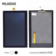 ЖК-дисплей Дисплей для lenovo X103 Tab 3 10 плюс TB-X103F TB-X103 Сенсорный экран Панель планшета Сенсор матричная сборка без рамки 10,1»