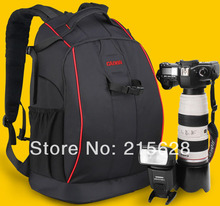 Top quality large capacity  professional burglarproof Digital SLR Photo Camera Backpack  DSLR waterproof Bag for Canon and Nikon