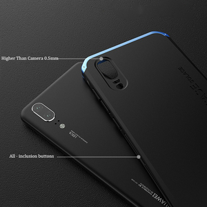 Image 2 - Soinmy Shockproof Armor Case For Huawei P20 case aluminum Metal Frame Hard PC Cover For Huawei p10 plus mate 10 honor V 8 Coques
