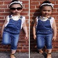 summer style kids clothes girl set bib overalls girl bobo choses topolino family clothing Sports leisure overalls  YAZ053