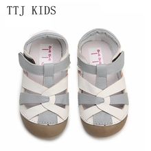 TTJ Children leather shoes Style Of Fashion Casual Boys Girls For Baby