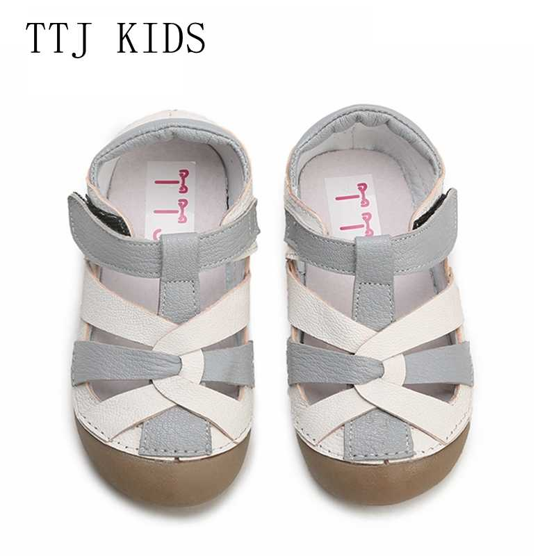 5c233e8c98bc TTJ Children leather shoes Style Of Fashion Casual Boys Girls For Baby  Shoes kids Anti-