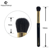 Happy Makeup Eye Brushes Smoky 1pcs Nose Highlighter Eyeshadow Blending Shadow brush Cosmetic Professional Natural Goat Hair