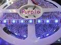 NEW 5M 16.4ft  UV Ultraviolet 395nm led strip 5050 SMD Purple 300 LED flexible Tape ribbon Light 12V  free shipping