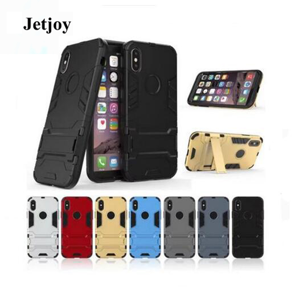 JETJOY Shockproof for Apple iPhone 10 X ten case Business Duty Dirty Resistance Armor Case Kickstand Multifunction Sport Cover