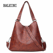 цены BALEINI handbags for women high quality shoulder bag women small crossbody messenger bag ladies fashion tote artificial leather