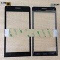 """Высокое Качество 4.5 """"Explay Tornado Touch экран Емкостный Оптовая Планшета переднее стекло замена TouchScreen Бесплатная 3 м стикер"""