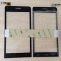 """High Quality 4.5"""" Explay Tornado Touch screen Capacitive Wholesale Digitizer front glass replacement TouchScreen Free 3m sticker"""