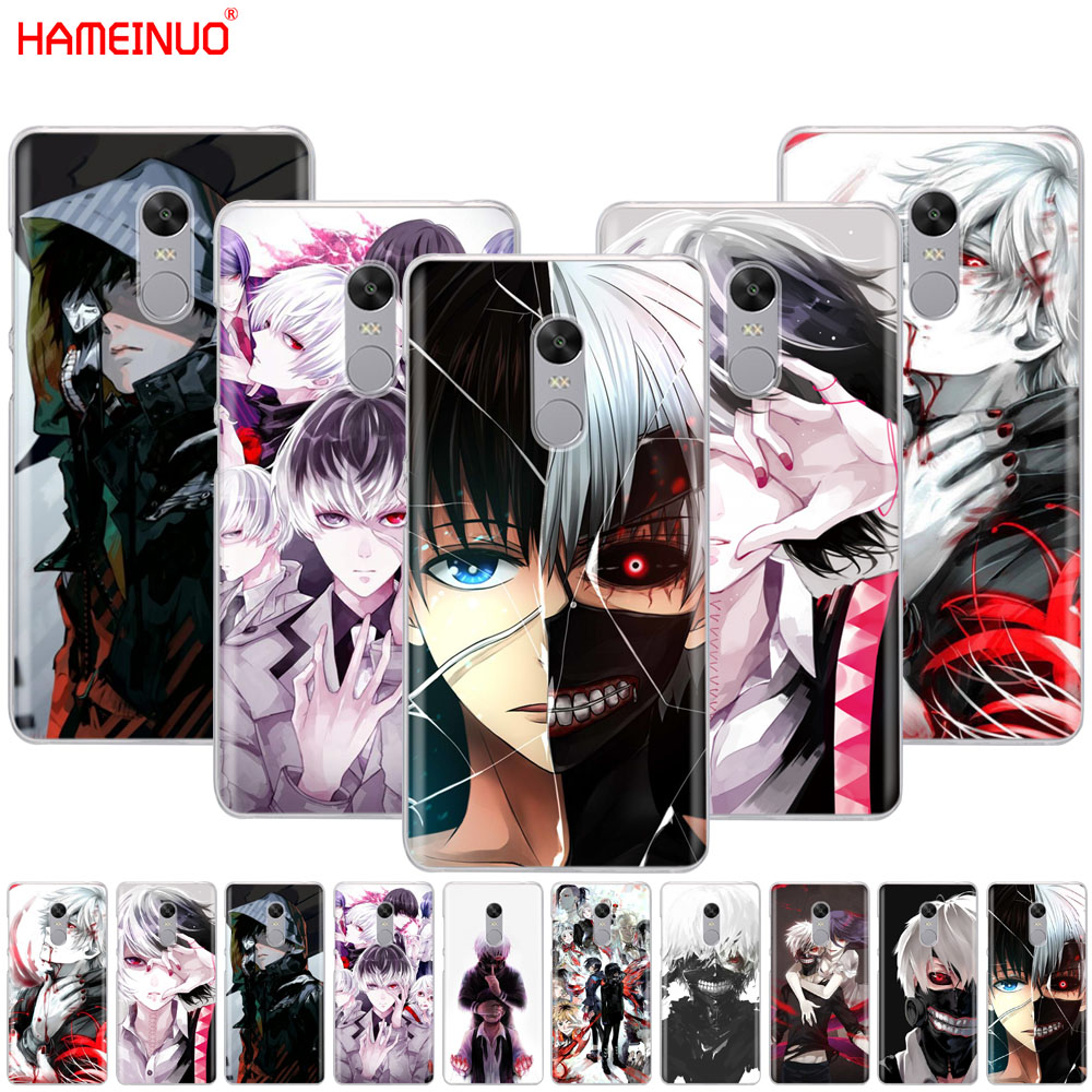HAMEINUO Tokyo Ghoul anime Kaneki Ken  Cover phone  Case for Xiaomi redmi 5 4 1 1s 2 3 3s pro PLUS redmi note 4 4X 4A 5A