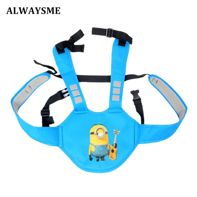 ALWAYSME bicicleta montaña vehículo eléctrico Motor Scoot bebé niños asiento de seguridad trasero mochilas portadoras arnés