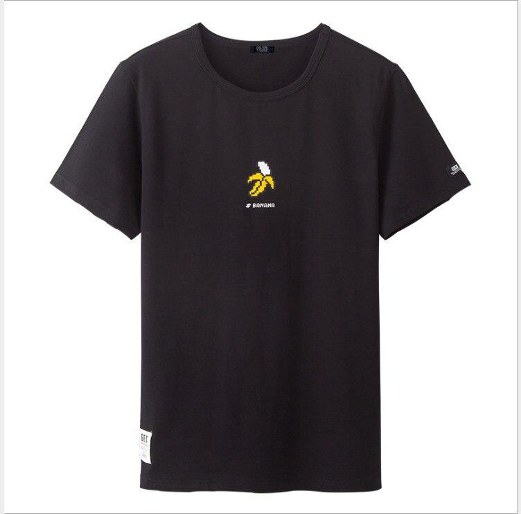 2018 neue Brief Drucken T Shirt Herren Schwarz Und Weiß Comic Con Cosplay o neck T-shirts Sommer Skateboard T Junge skate T-shirt Tops