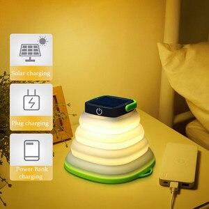Solar LED Camping Light Portab