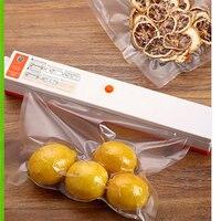 1 рулон Кухня Еда вакуумная сумка сумки для хранения для вакуумного упаковщика продовольственный мешок свежая длинная для сохранения свеже...