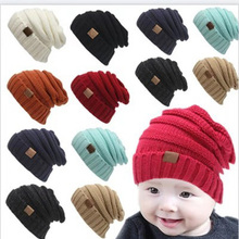 aba61280fd40cd Winter Hats For Kids CC Beanie Warm Hat Knit Beanies Slouchy Hats For Girls  Cute Boys