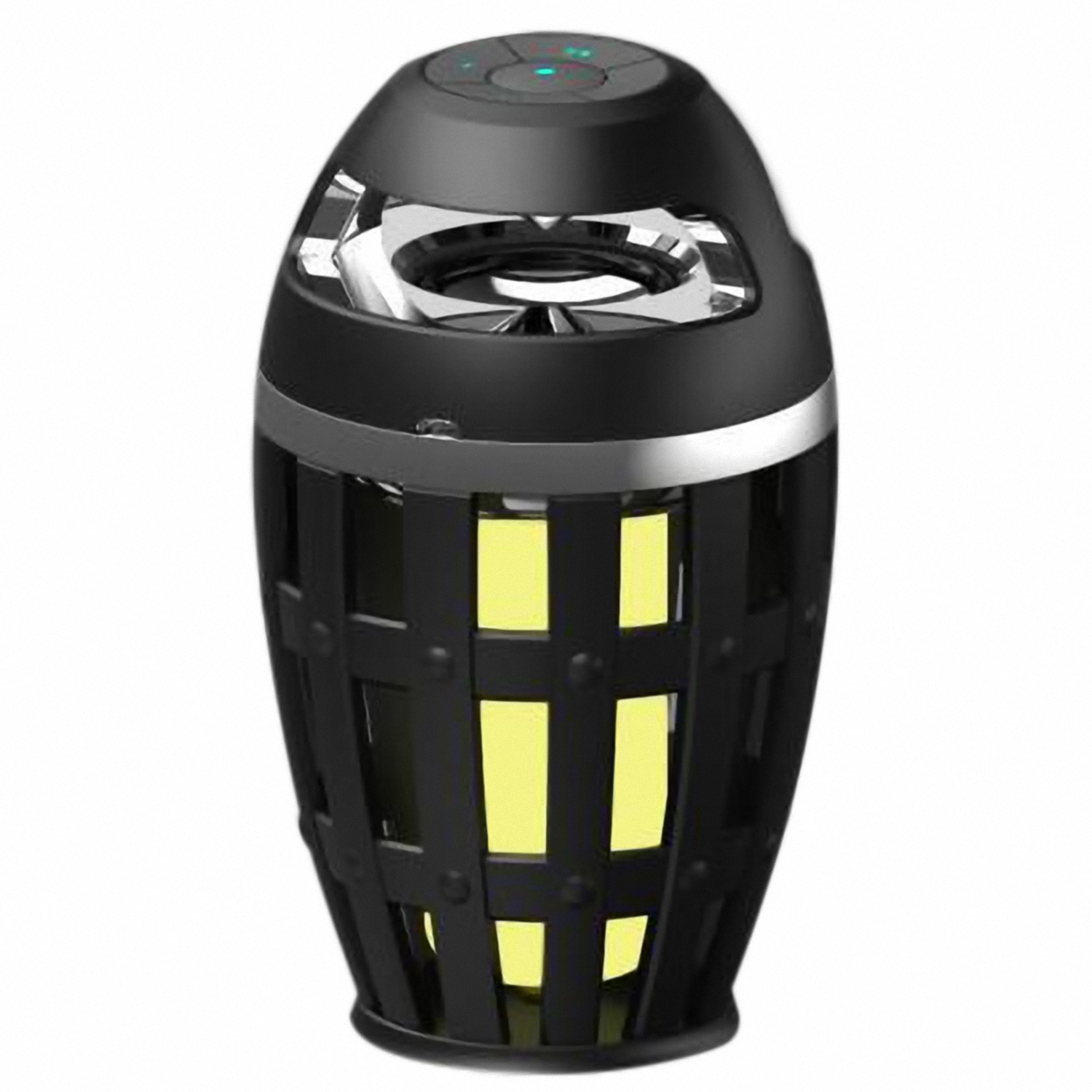 LED Table Lamp Bluetooth Speaker Night Light Outdoor/Indoor Portable Stereo Wireless Speakers,Atmosphere Dancing Flicker Flame