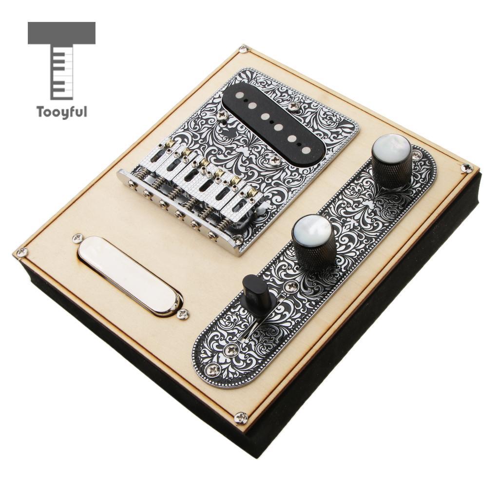 1 Set Loaded Prewired Control Plate Bridge Neck Bridge Pickups for Telecaster Tele Electric Guitar