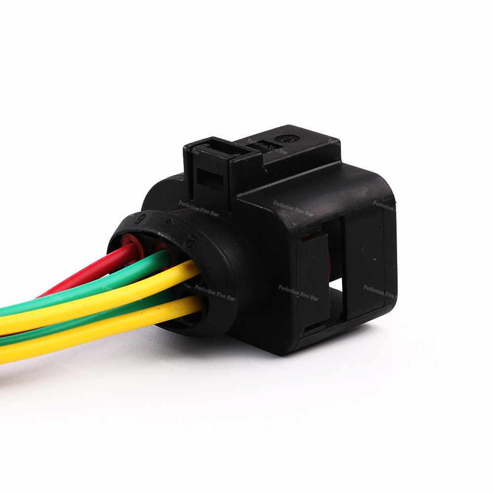 1j0973733 oxygen sensor plug connector 6 pin wiring harness for vw golf 2004 2013  [ 1000 x 1000 Pixel ]