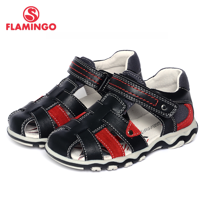 FLAMINGO famous brand 2017 New Arrival Spring & Summer Kids Fashion High Quality sandals for boys 71S-XY-0236