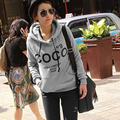 2017 Women's Hoodies Printed COCO Sweatshirts Autumn Winter Sportwear Parka Coats Moleton Feminino Women Pullovers S-XXXL