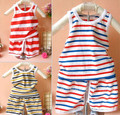 new spring 2017 fashion summer children kids clothing set boy newborn infant baby bebe bib vest shorts striped cotton outfits