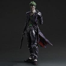 28cm Suicide Squad Joker batman Justice league Movable PVC Action Figure Can Change Face Collectors Model Toys