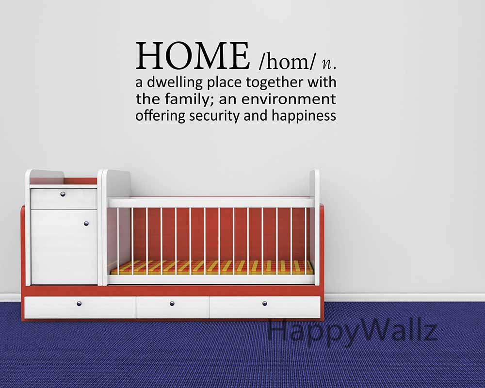 home definition family quote wall sticker decorating diy family  home definition family quote wall sticker decorating diy family home lettering quote living room custom colors q29 in wall stickers from home