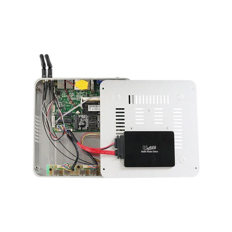 Image 5 - Dual Gigabit Ethernet LAN Mini Computer Fanless Core i5 4200U i7 5500U Mini PC Celeron 2955U Windows 10 HDMI RGB USB PC-in Mini PC from Computer & Office
