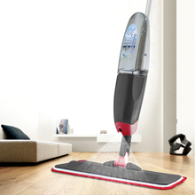 360 Degree Swivel Spray Mop Metal Hand Holder Cleaning Kitchen Floor Tool Gadget Microfiber Cloth