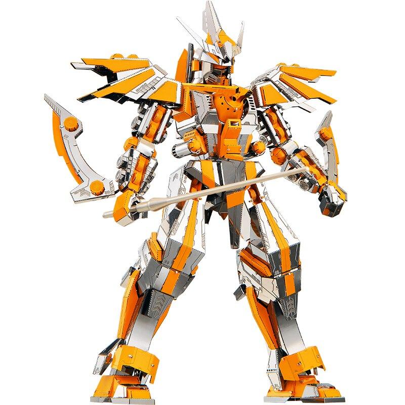 MMZ MODÈLE Piececool 3D métal puzzle Lame Du Croissant-Rouge Armure Robot Assemblée métal Modèle kit DIY 3D Laser Cut Modèle puzzle jouets