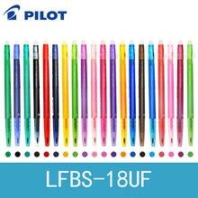 Pilot Frixion Ball Slim Gel Pen 0.38mm 6 sztuk/partia 20 kolory dostępne czarny/niebieski/czerwony/zielony/fioletowy/pisanie dostaw LFBS 18UF
