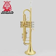 Original JinBao Brand JBTR-400 Musical brass Instruments Full Copper Bb Adjust Professional Trumpet Trompete Trompeta Tromba
