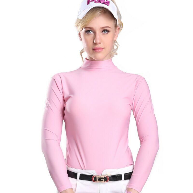 2018 Hot Sale Promotion Hombre Camisetas Mujer Mulheres Roupas De Golfe Golf Female Sun Shirt Ice Tights Summer Models Clothing in Golf Trainning T Shirts from Sports Entertainment