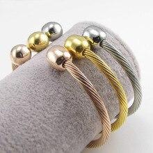 TOP QUALITY Pretty Lady Gold Bangle Women's Lover Bracelet Jewelry Metal Bracelets Bangles Heart-Shaped Accessories