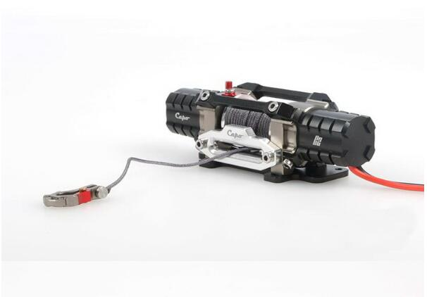 Capo C2 Dual Power ACE1 JKMAX Winch Model Dual Power Remote Winch Black CD15820