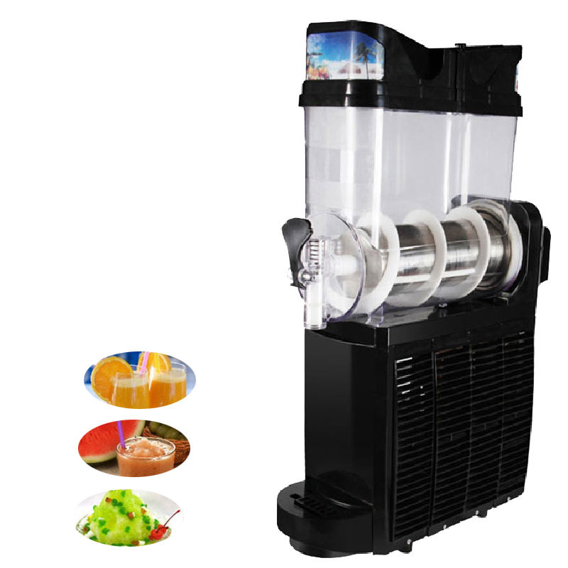 Jamielin Commercial Slushing Machine Smoothie Maker Ice Cream Snow Melting Machine Smoothie Granita Machine Sand Ice Slushy
