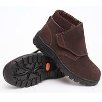 Męskie buty wysokiej pomocy ochrony pracy odporne na przebicie elektryczne spawaczy anti smashing przypadkowi buty 38-46 rozmiar