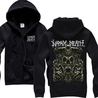 Free Shipping NAPALM DEATH Licensed Hoodie Heavy Metal New M L XL