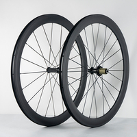 Ultra Light 700C 38mm 50mm 60mm 88mm Clincher Tubular Road Bike Carbon Wheels 20 5mm