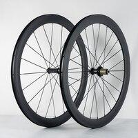 Ultra Light 700C 38mm 50mm 60mm 88mm Clincher Tubular Road Bike Carbon Wheels 20 5mm