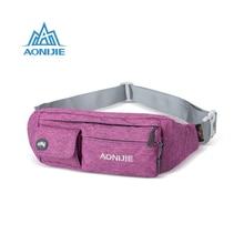 2018 Newset Unisex Mutifunction Waist Bag Outdoor Sport Running Belt Racing Hiking Anti-theft Hip Bag Camping Gym Fitness Bgas