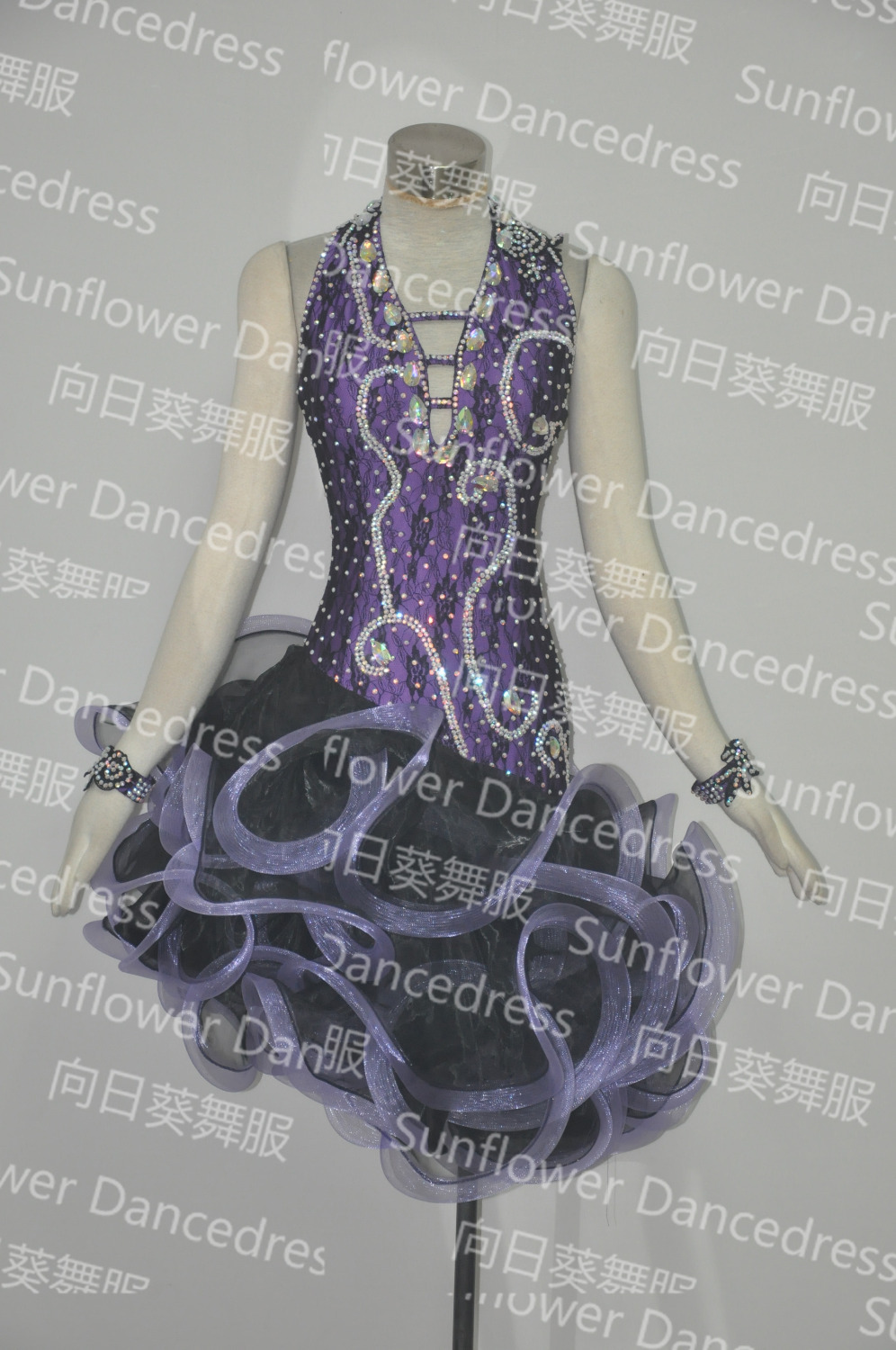 2016new Latin Dance Dress,ballroom Dress Rumba Jive Chacha Ballroom Latin Dance Dress Girls Women