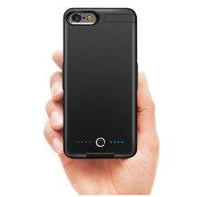 Внешний аккумулятор 10000 мА/ч, чехол для зарядного устройства для iPhone 6, 6 S, 7, 8, Ультратонкий чехол для зарядки аккумулятора, внешний аккумулятор для iPhone 6, 6 S, 7, 8 Plus
