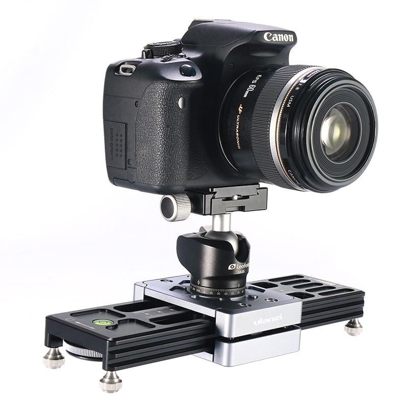 Ulanzi SL-260 curseur de caméra Mini Rail système de voie vidéo curseur pour Canon Sony Nikon Panasonic DSLR caméra smartphone ARRI